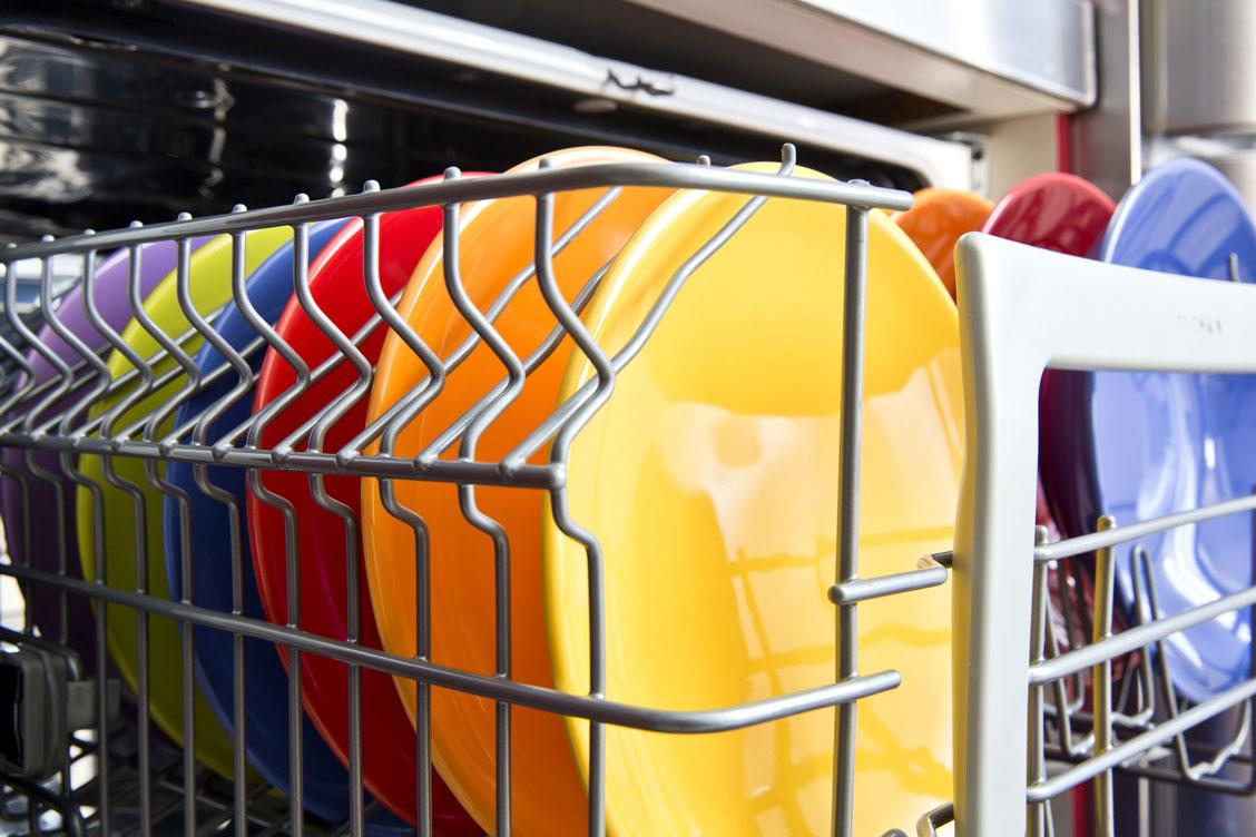 Kontoret städas och disken diskas