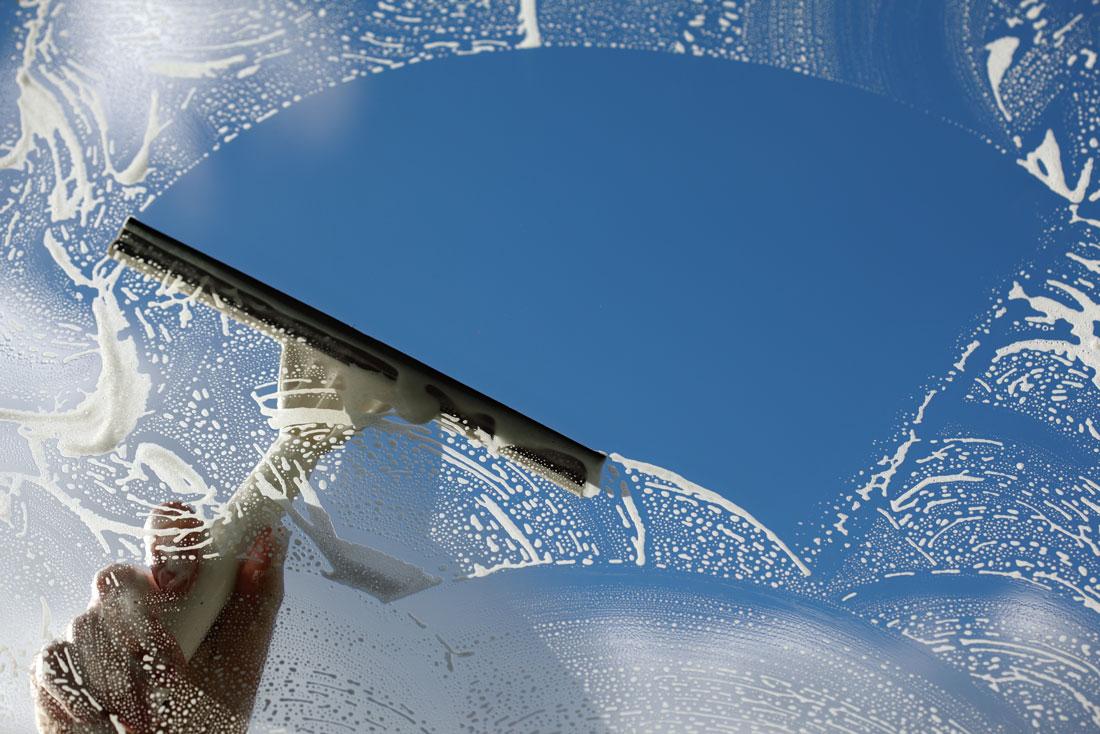 Fönsterputs som låter dig se hela Göteborg